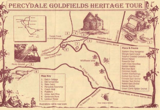 Heritage tour map